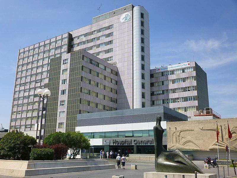 Imagen del Hospital la Paz | Fisair